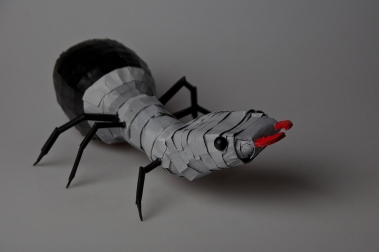 Paper Sculpture Ant - ant, papersculpture - rayjay-6615 | ello