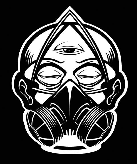 Blunt Force Crew shirt design - illustration - khalidrobertson | ello