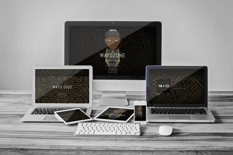 Wayo - Music artist Website ill - rayjay-6615 | ello