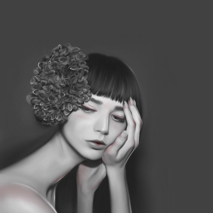 illustration, drawing, portrait - jenny-1264 | ello