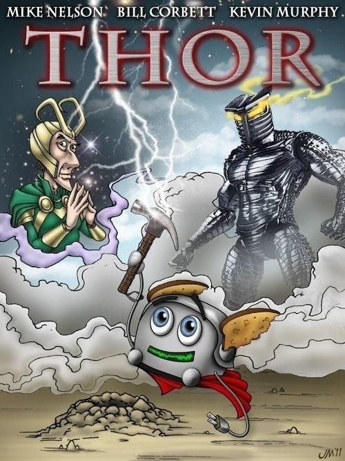 Illustrated poster RiffTrax: Th - jasonmartin-1263 | ello