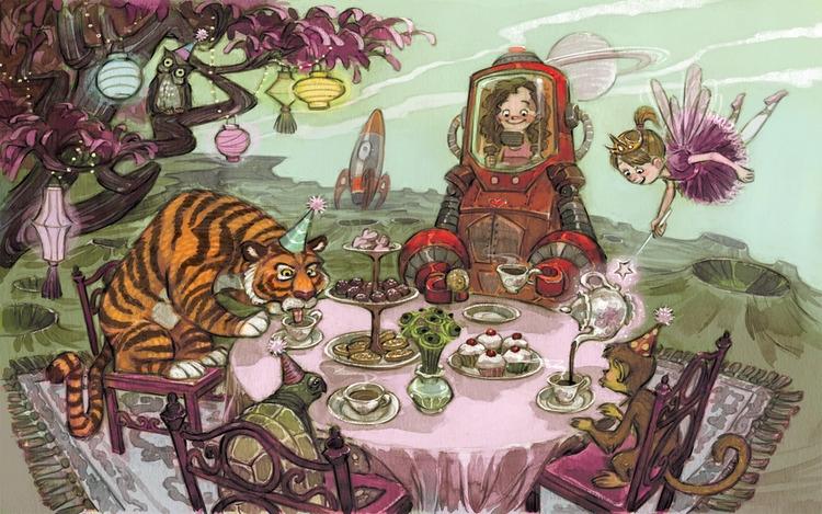 illustration, digitalart, children'sillustration - jessicawarrick | ello