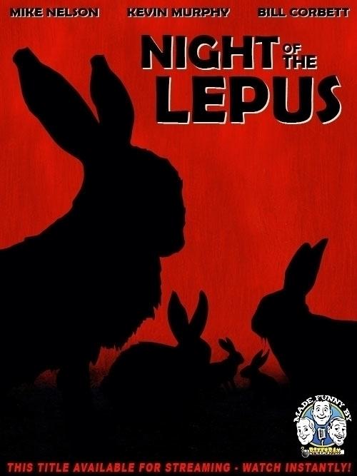 Poster RiffTrax Night Lepus - MST3K - jasonmartin-1263 | ello