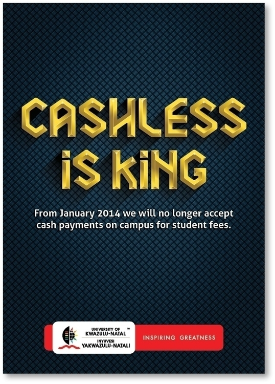 Cashless King - illustration, typography - paulvosloo | ello