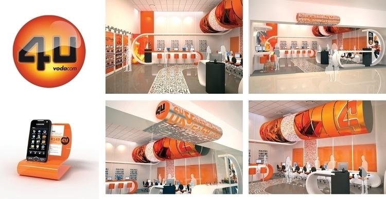 Vodacom 4U - interiordesign, 3ddesign - paulvosloo | ello