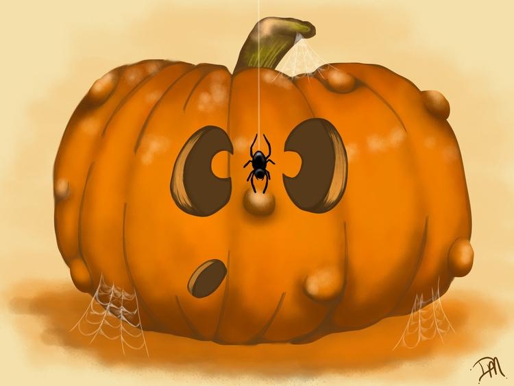 Spooked- fun spooked visitor.  - dmerchen | ello