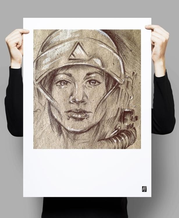muse - #astronaut, #illustration - rblxdesigns | ello