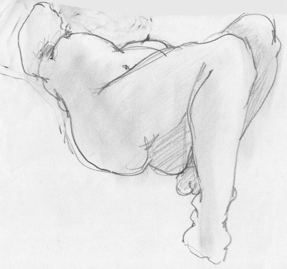 illustration, drawing, nude, sketch - cs-2874 | ello