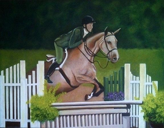 Patti horse - portrait, acrylicpainting - sylverdesign | ello