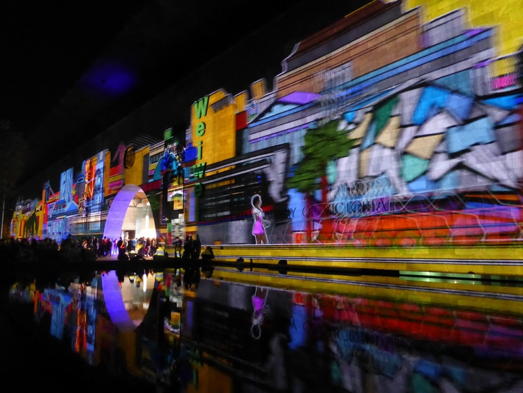 Reflected Projections, NGV Melb - studiobonnici | ello