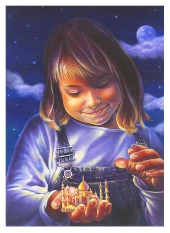 Girl, book cover illustration.  - johntrinh   ello
