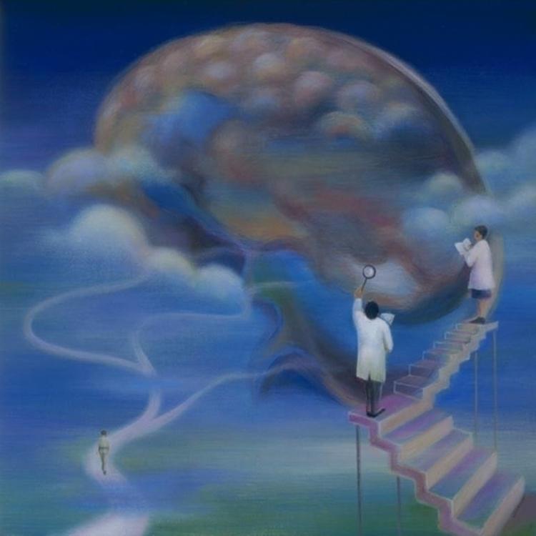 Consciousness. Acrylics - johntrinh | ello
