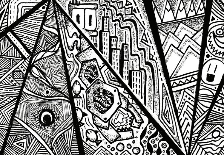 Inktober 2015 Day 14 - ink, penink - stephencunniffe | ello