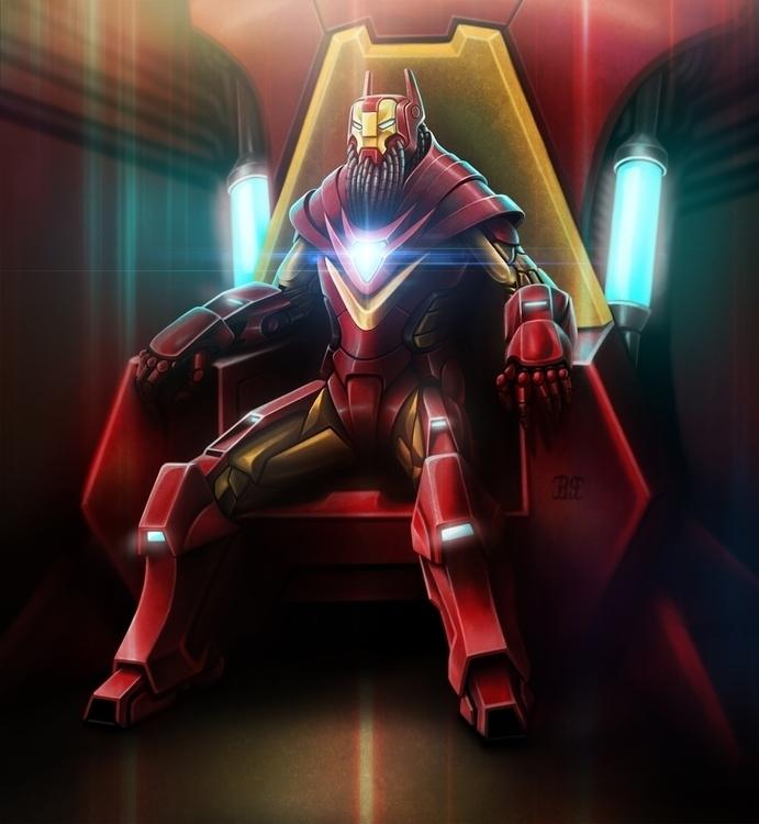 iron man - characterdesign, conceptart - lnpbr_b9 | ello