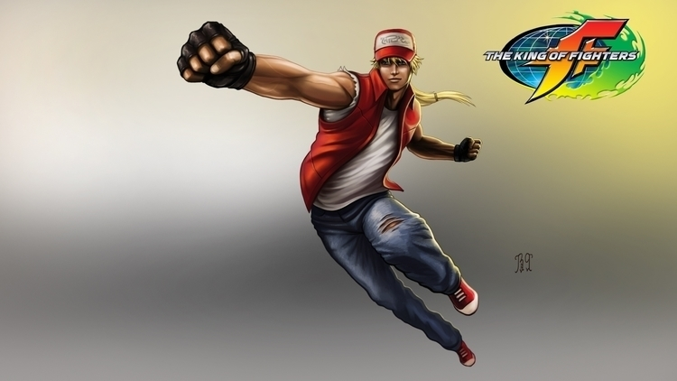 Terry_the king fighters - painting - lnpbr_b9 | ello