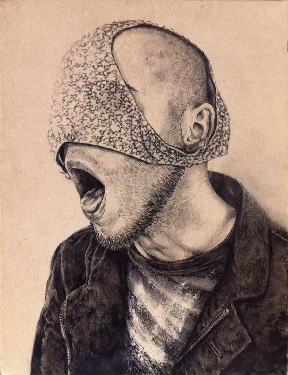 Autoportrait - autoportrait, portrait - alexideo | ello