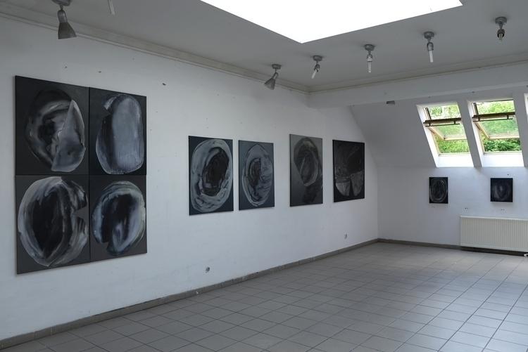 Stones wall - exhibition, painting - kejto | ello