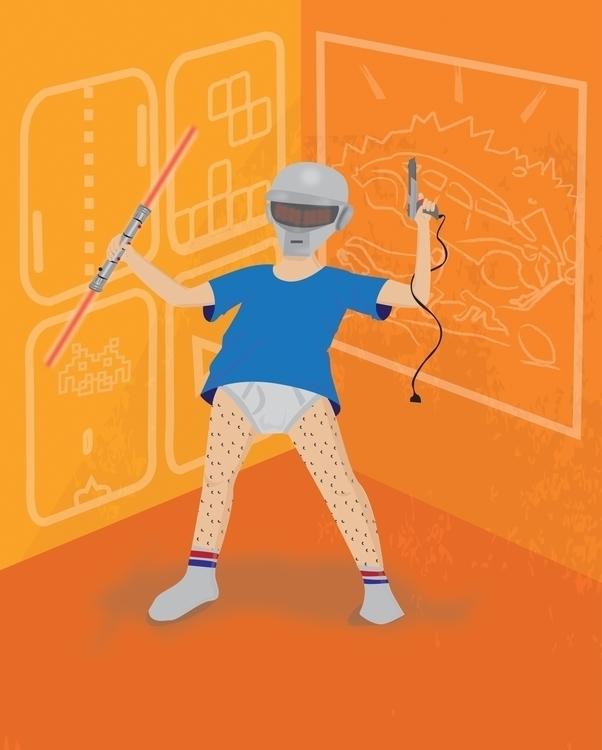 Geek - characterdesign, geekculture - netoon | ello