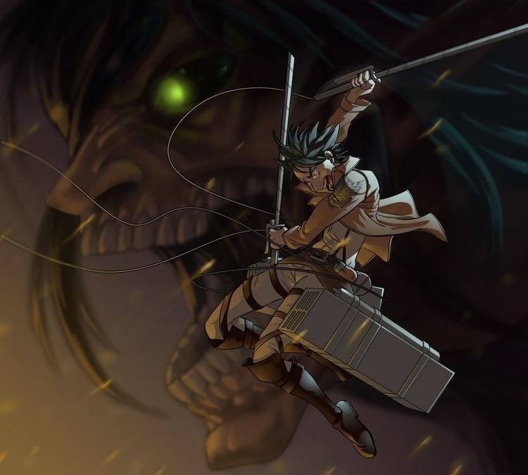 Attack Titan - fanart - kevinallen-5044   ello