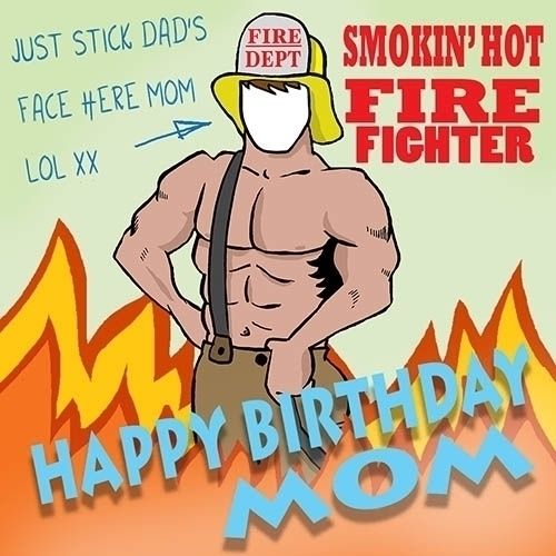 Smoking hot fire fighter - illustration - paulwooldridge | ello
