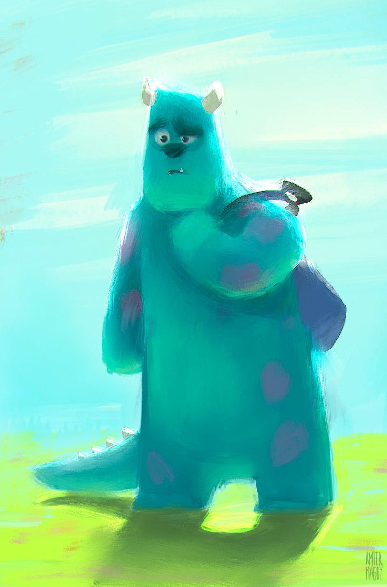 Sully University - Sulley, Monster'sInc - ameermagdy | ello