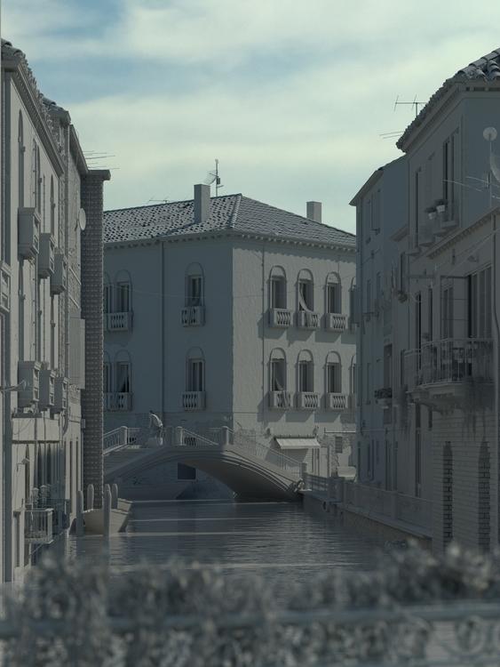Day Venice - shade render - viniciuspaciello   ello
