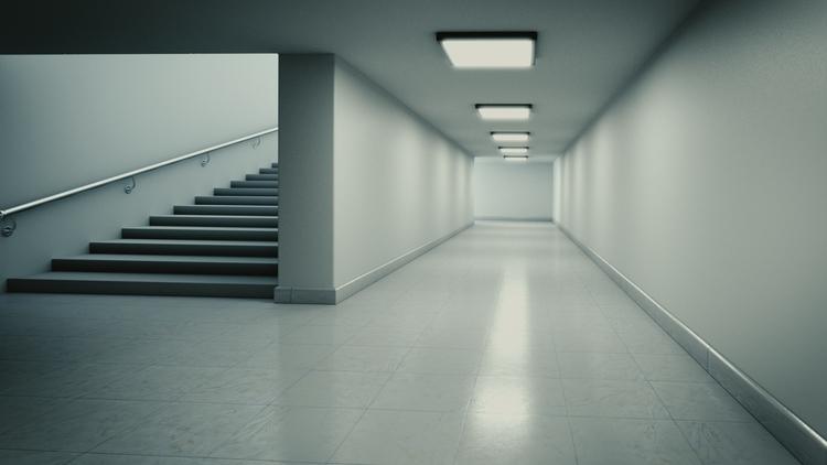 Corridor - 3d, 3dinterior, visualization - camomiles-1144 | ello