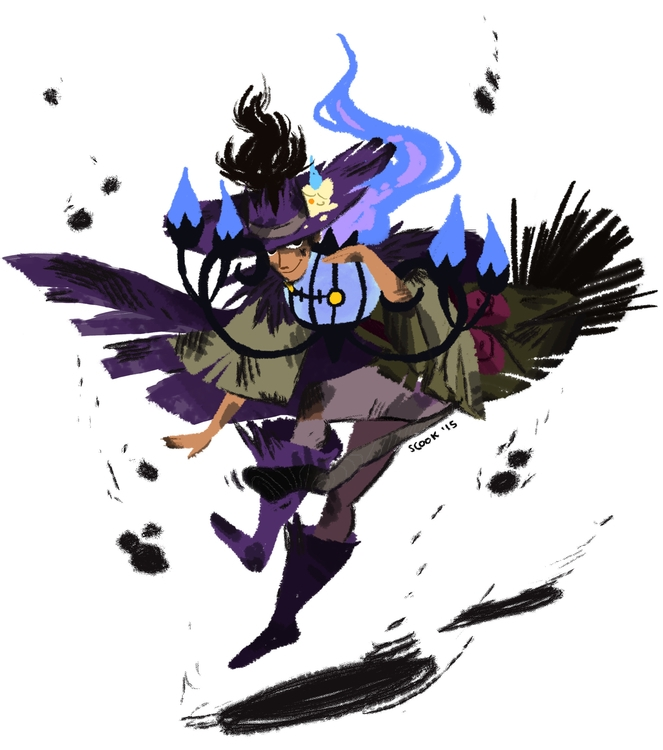 Messy, messy. Witch Soot - witchsona - scookart | ello