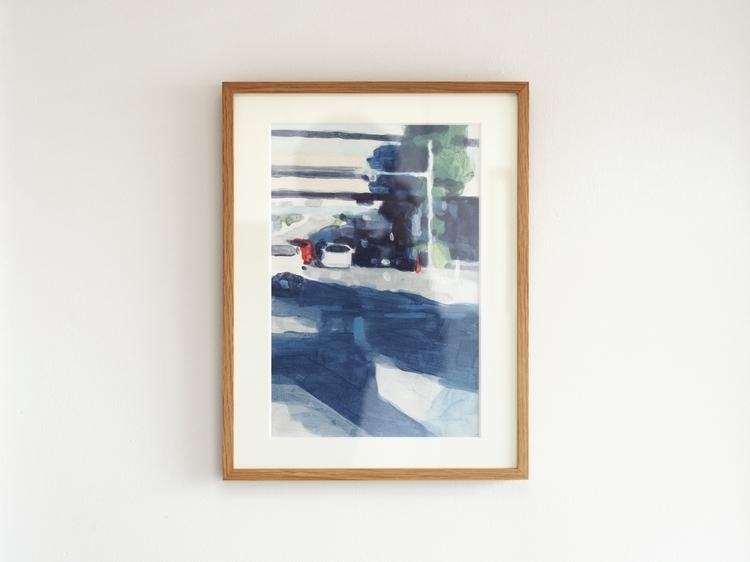 painting, acrylic - showakasugi | ello