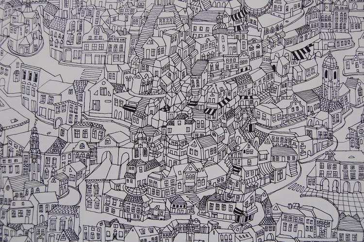 big city (1,50x 2,20) Pencil pa - kejto | ello