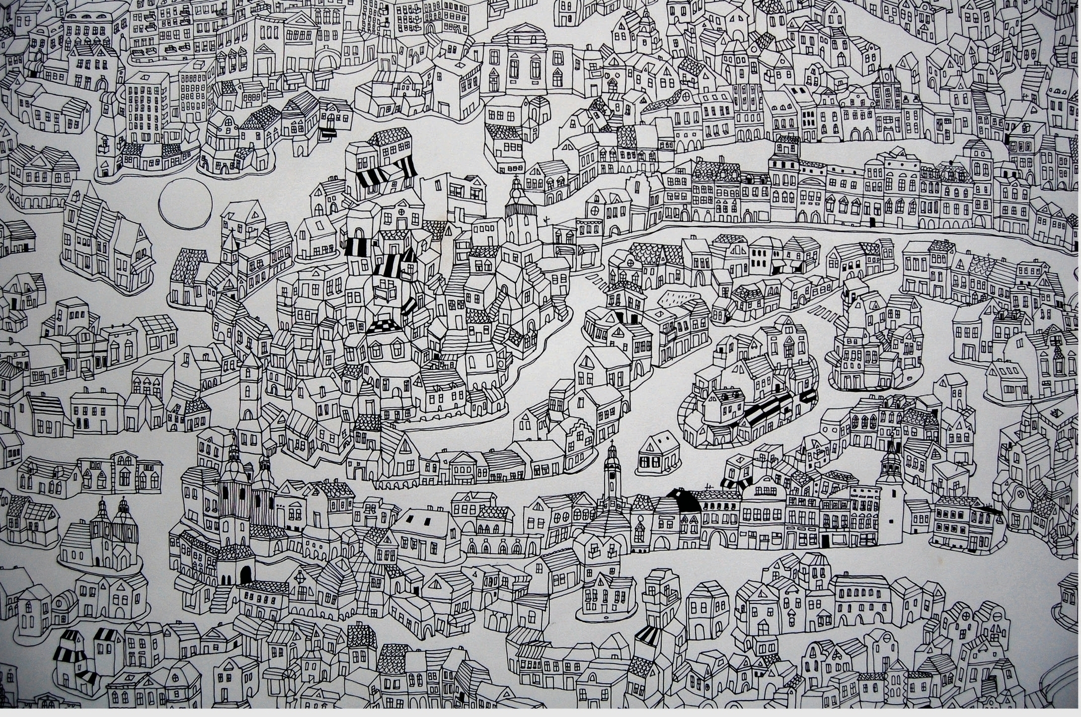 big city (1,50x 2,20) Pencil pa - kejto   ello