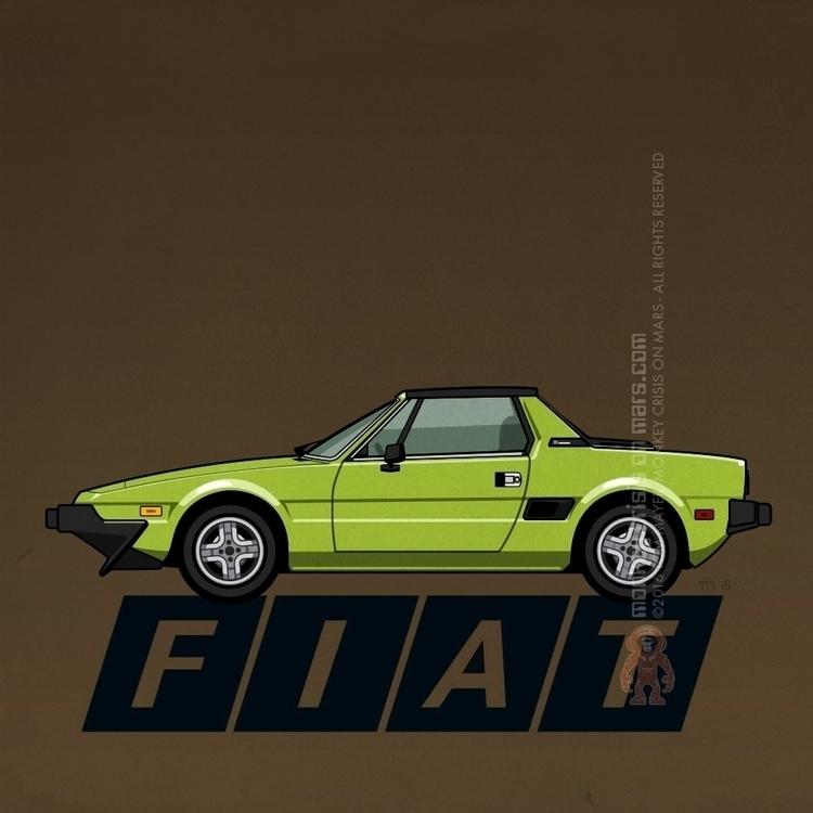 Fiat Bertone X1/9 (1972-1989)  - monkeycrisisonmars | ello