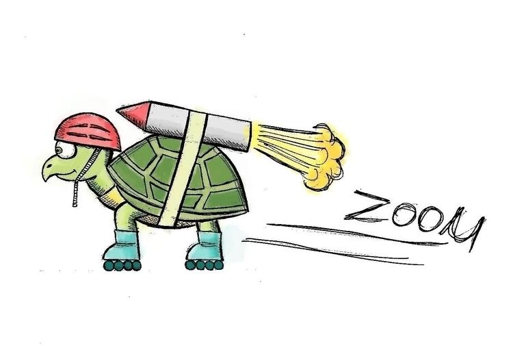 Zoom - zoom, tortoise, rocket, helmet - arvindm | ello