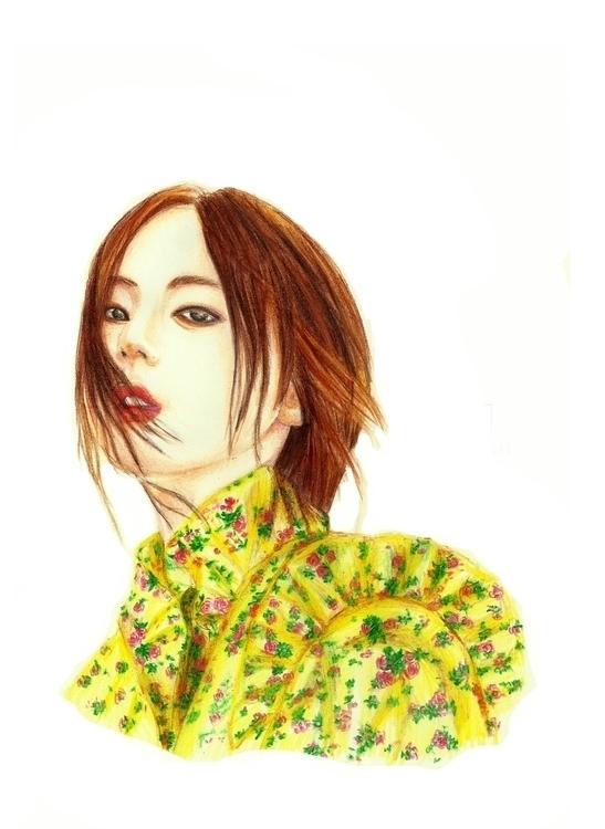 Hope! Sohee - drawing, coloredpencil - plyncheong | ello