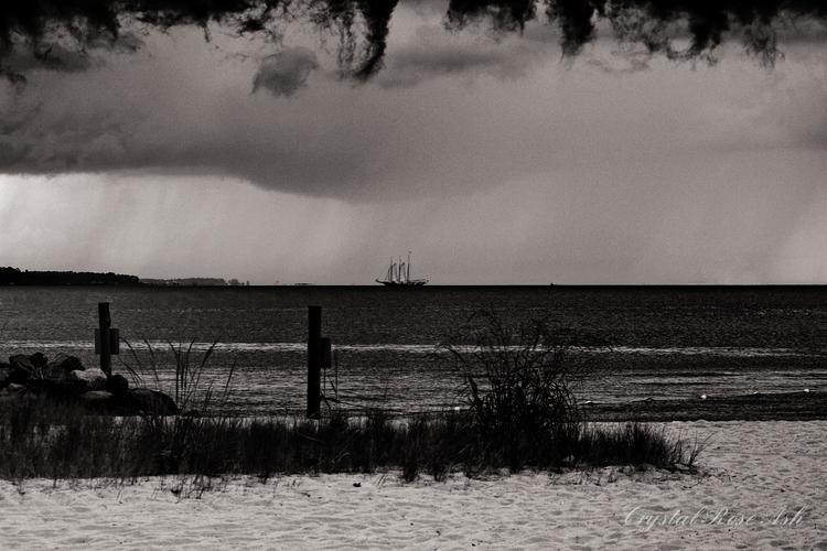 Adrift storm - boat, adrift, float - crystalrose-5770 | ello