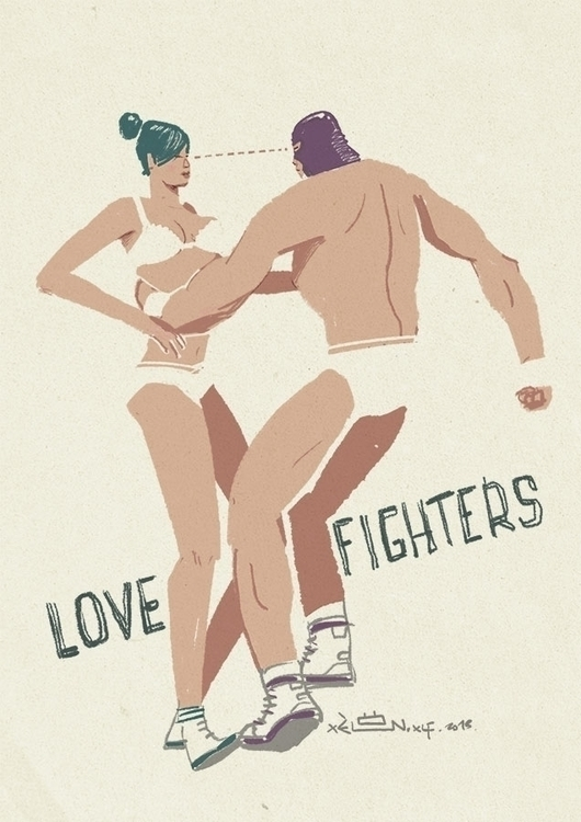 LOVE FIGHTERS. forget important - xelonxlf | ello