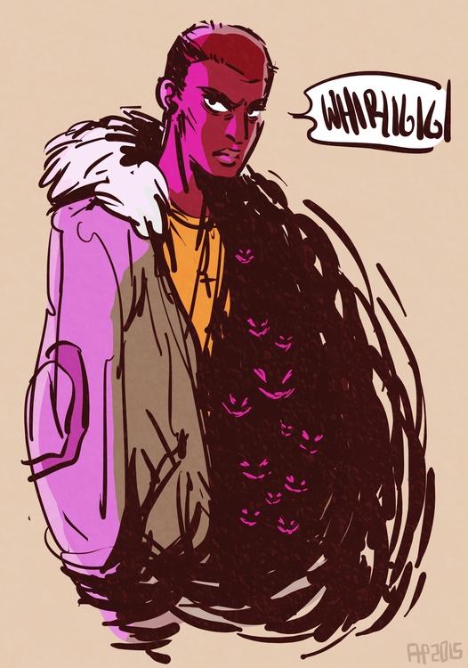 Character sketch Beneath - emerson - rachelpoulson   ello