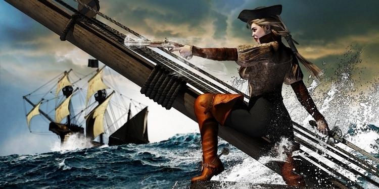 Blade Naberius - 3d, fantasy, pirate - baddog117 | ello