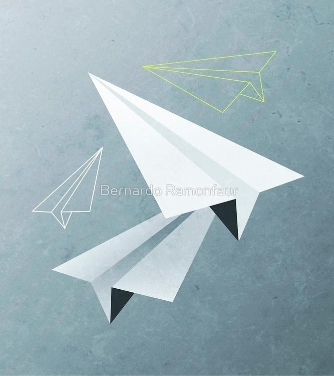 Paper planes - paper, origami, fly - bernardojbp | ello