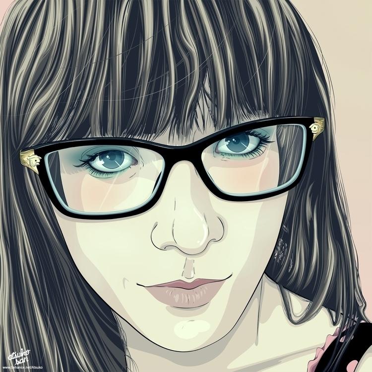 version, full project Behance - illustration - atsukosan-3588 | ello