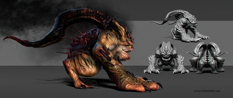 Kracku - characterdesign, design - uzzuabadia | ello