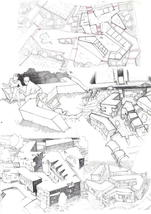 sketch - architecture, drawing - pompeo-1445 | ello