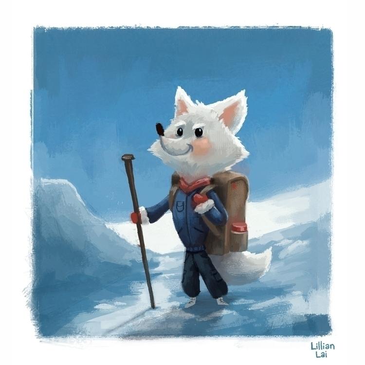 arctic fox - lillisketch | ello
