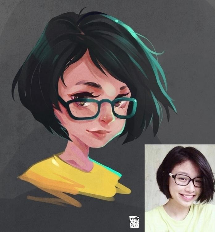 illustration, characterdesign - vinceruz | ello