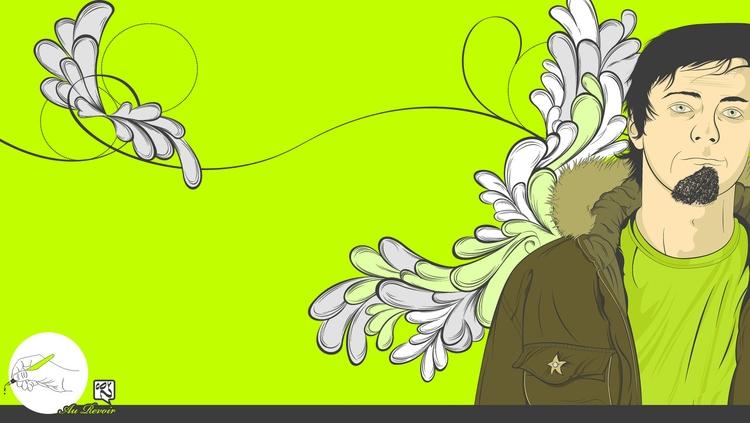 Green - illustration, art, digitalart - atsukosan-3588 | ello