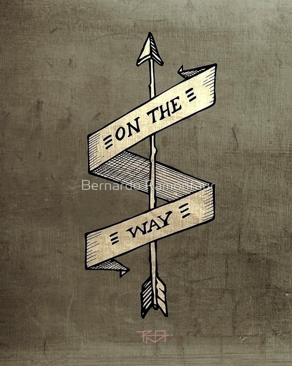 / Illustration - arrow, heart, ribbon - bernardojbp   ello