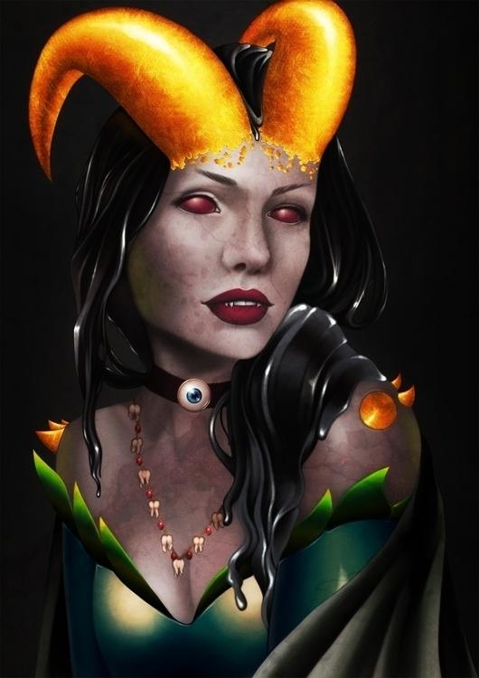 Finished Tooth Fairy - illustration - aeme   ello