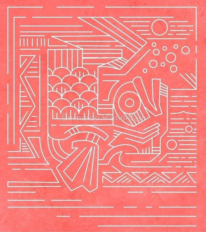 Koi fish / illustration - koi, drawing - bernardojbp | ello