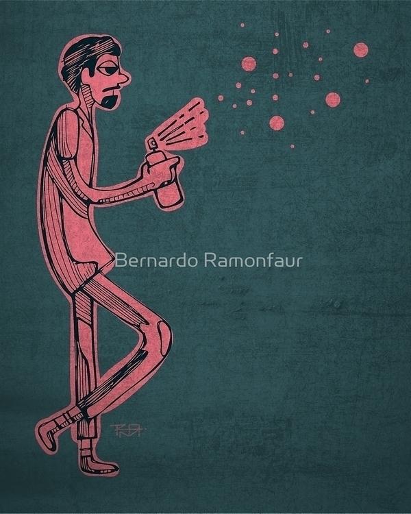 Graffiti artist / Illustration - bernardojbp | ello