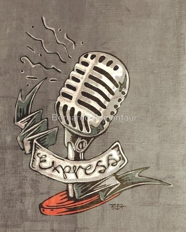 Express / illustration - retro, vintage - bernardojbp | ello